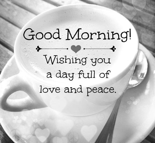 Good morning to all my fellow pinners :) Good morning to u.