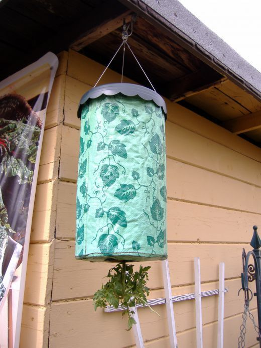 How To Make Your Own Homemade Topsy Turvy Garden Planter | Grow Tomatoes Upside Down | Pinterest | Garden, Garden Planters and Planters