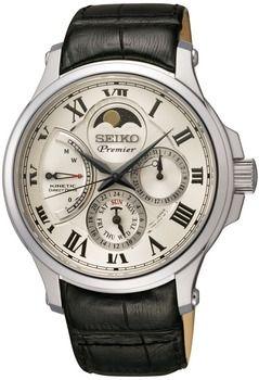 Montre quartz Seiko Premier Phase de Lune Homme SRX007P1