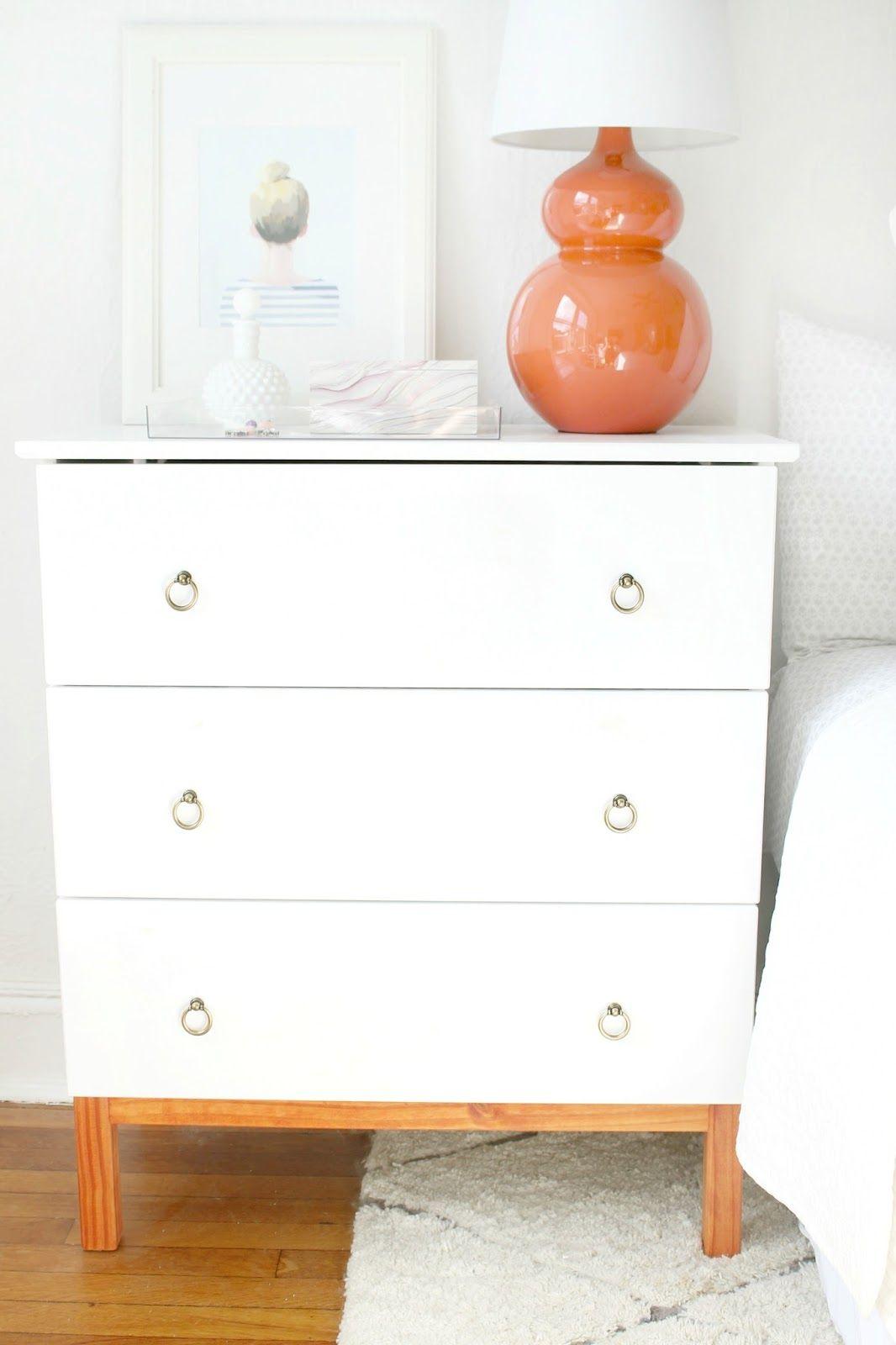 DIY Ikea Tarva Hack nightstands - Eine schicke weiße IKEA Kommode ...
