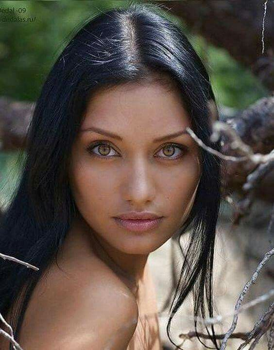 Native american female model