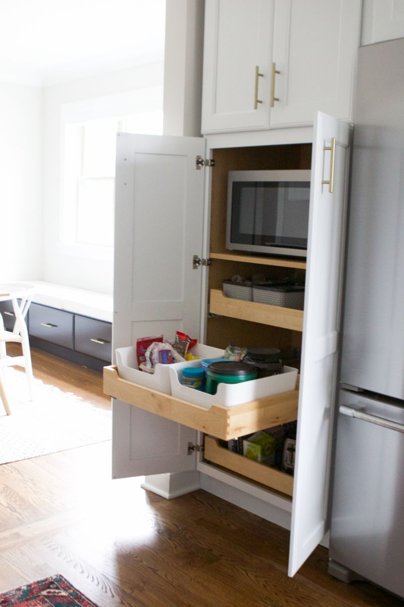 Built-in Kitchen Cabinet Organization | The DIY Playbook