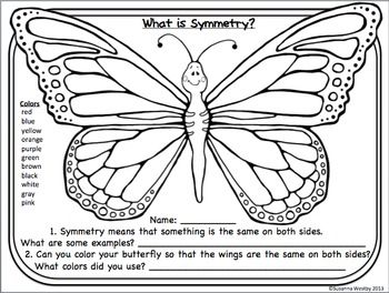 Weekly Freebie : Butterfly Writing Prompt (Color Words