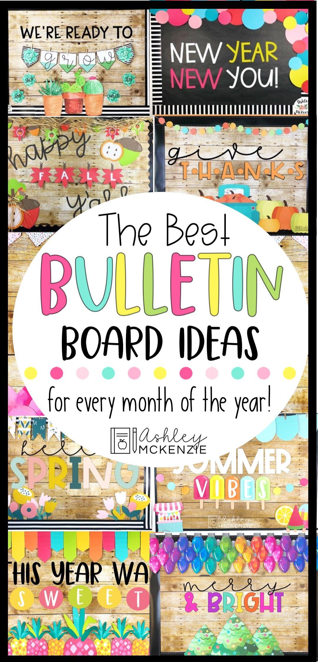 The Ultimate Bulletin Board Bundle Cute Bulletin Boards