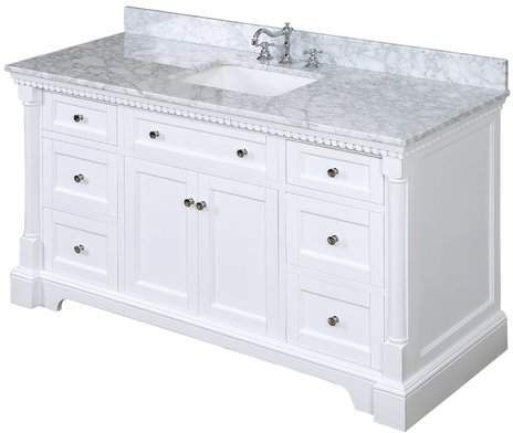 Bournon 60 Single Bathroom Vanity Set Bathroom Vanity Single Bathroom Vanity Double Vanity Bathroom
