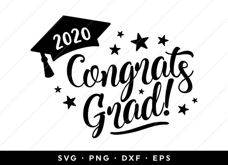 42+ Class of 2020 clipart black and white info