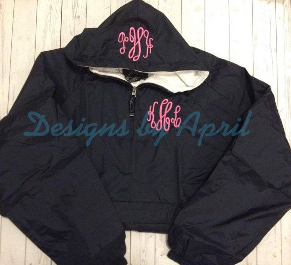 Monogrammed Water Resistant CLassic Solid by DesignsbyApril1234