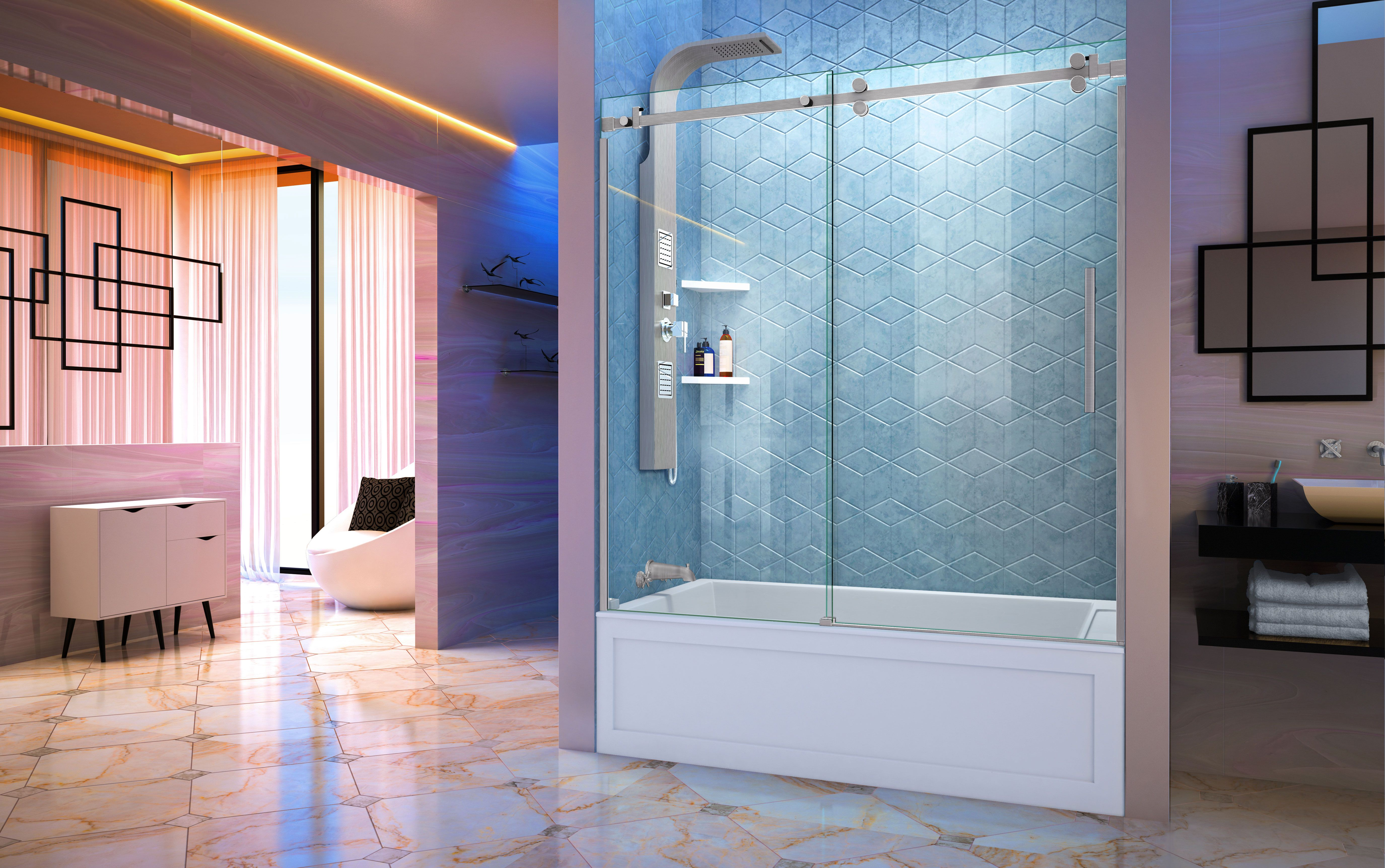 When it comes to your bathroom re-design, the sky\'s the limit with ...