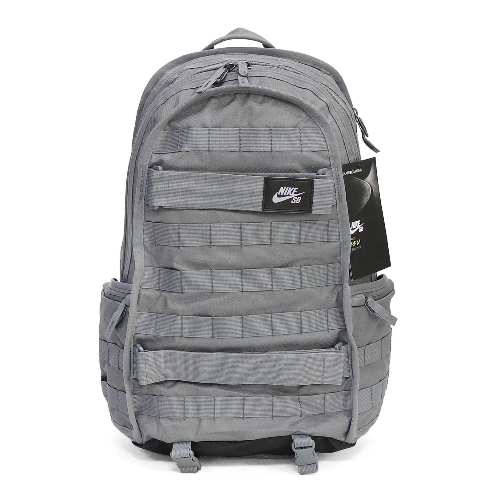 16f12f53a912 Nike SB RPM Solid Backpack Cool Grey Black     You can find more ...