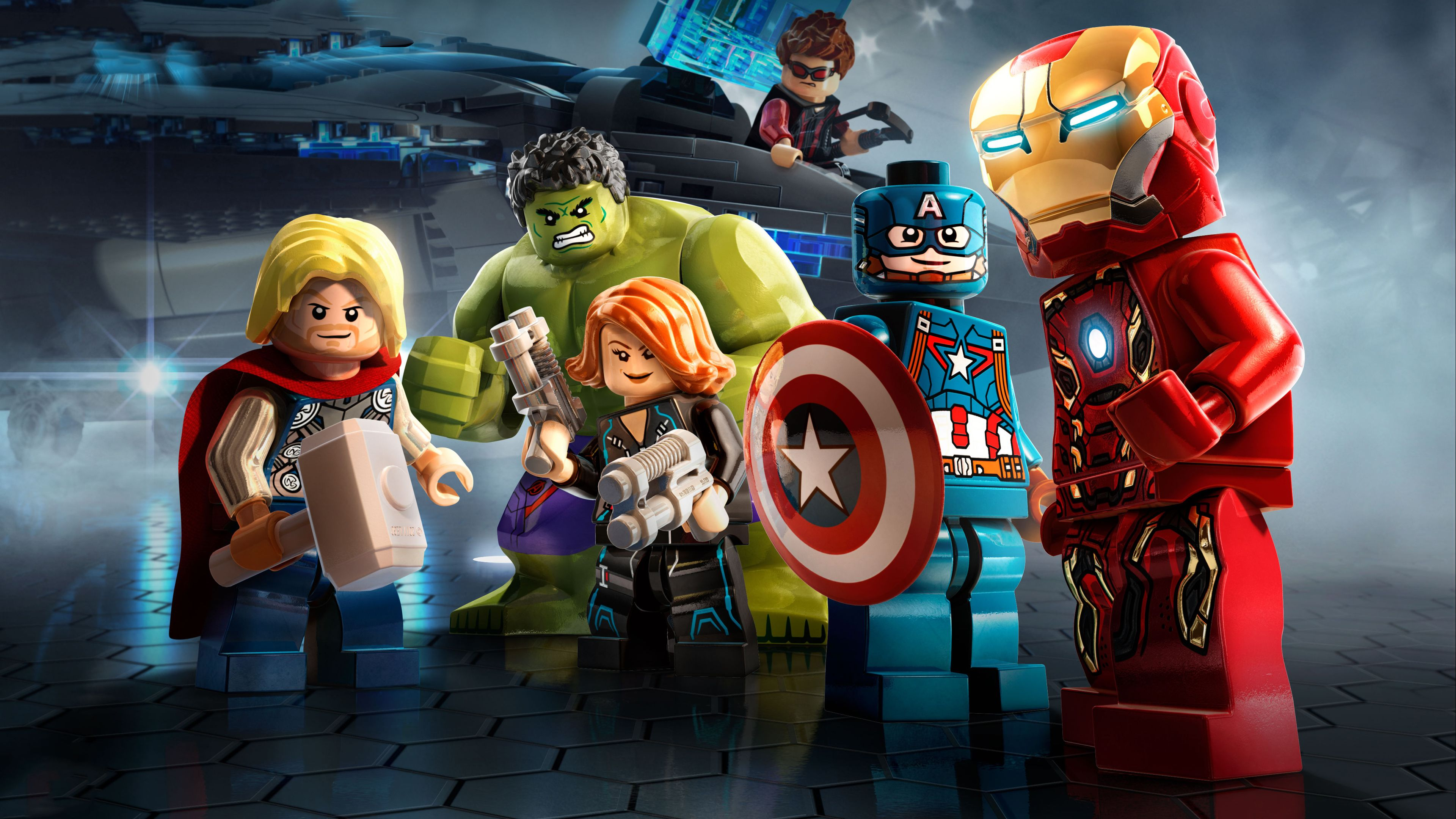 marvel avengers lego 4k superheroes wallpapers lego