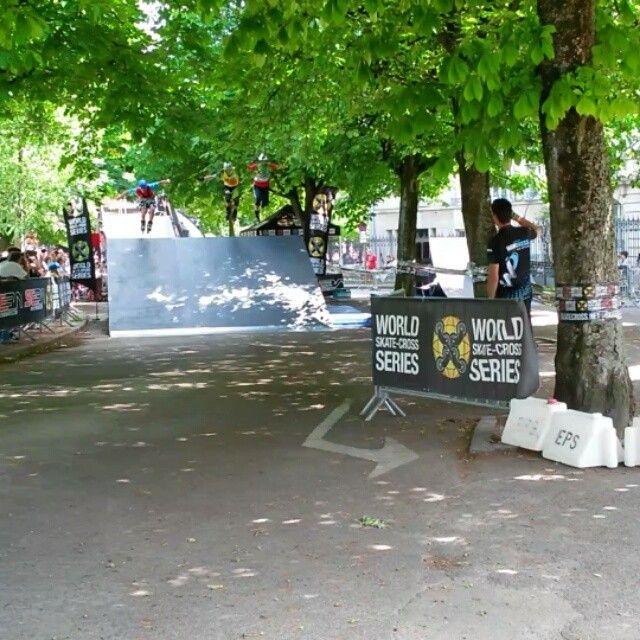 World #skate cross à #Dijon