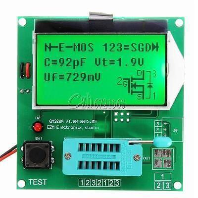 Digital LCD GM328A Transistor Tester Capacitance LCR ESR