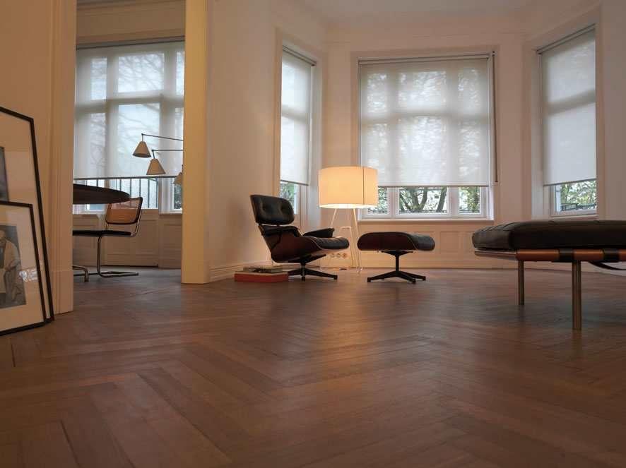 gordijnen inspiratie: rolgordijnen in woonkamer | Sfeerwand ...