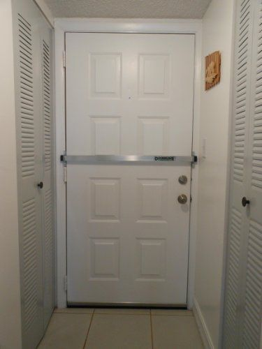 Doorricade Door Bar | Home safety, Diy home security, Home ...