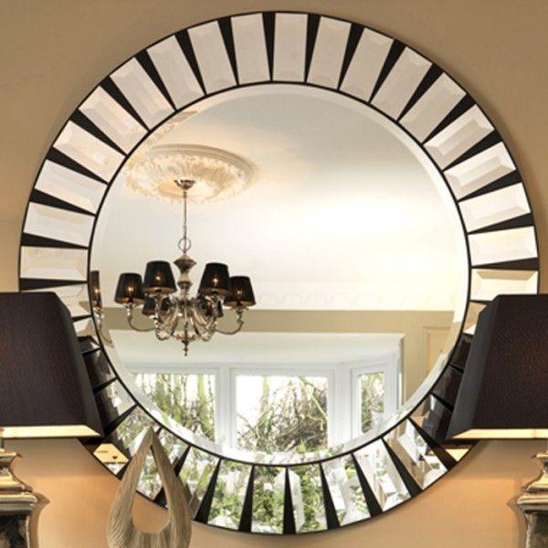Quartz Round Mirror