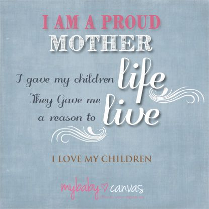 I Am A Proud Mother Mother Parenting Quotes Single Mom Quotes
