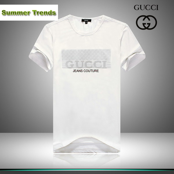 3667659a252 Gucci Jeans Couture Short Sleeve Men s T-Shirt White