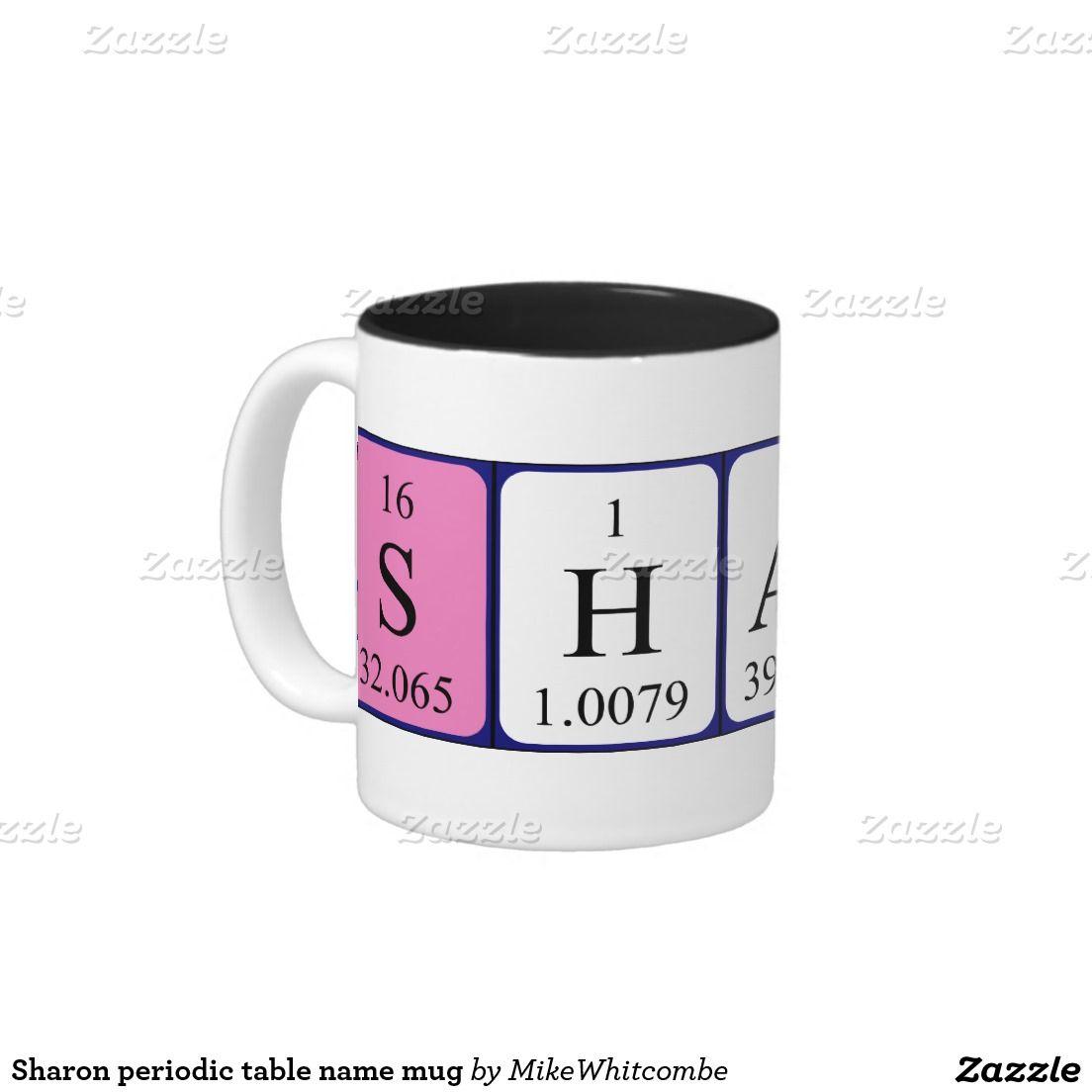 Sharon periodic table name mug periodic table sharon periodic table name mug urtaz Choice Image
