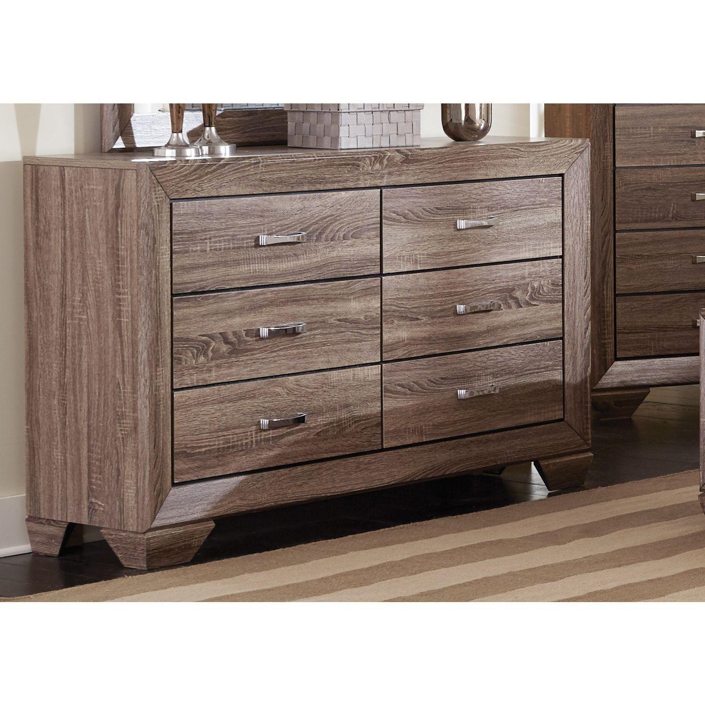 Coaster Company Kauffman Brown 6 Drawer Dresser (Dresser) #Coasterfurnituredressers