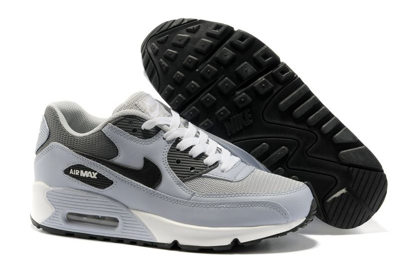 official photos 94bd0 6d2a9 Nike Air Max 90 Mens Grey White 325018 055