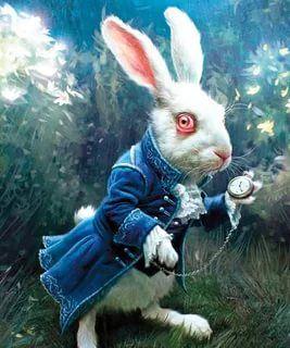 кролик из алисы в стране чудес: 13 тыс изображений найдено ...