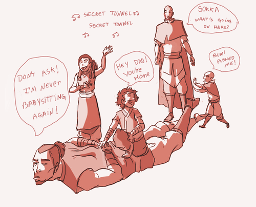 """This SO would happen to Sokka. """"The universe loves proving me wrong."""""""