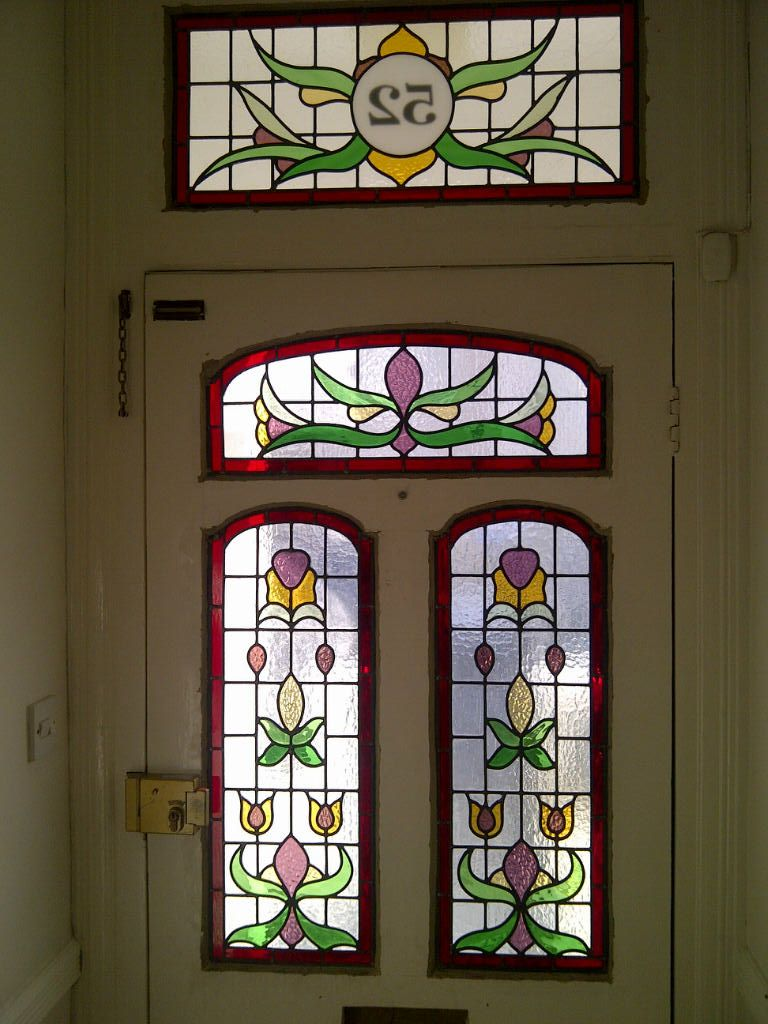 Edwardian stained glass windows with numbers google search