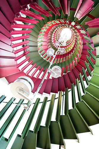 Double Helix Treppen Stairs Escaleras repinned by www.smg-treppen.de #smgtreppen