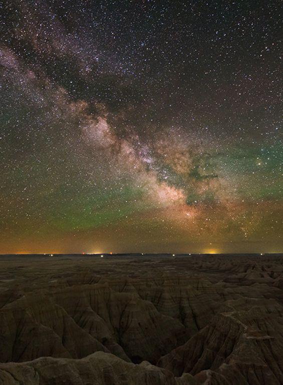 Badlands at Night | Celebrating America's National Parks | Andrew Harper Travel ©TsaiProject/flickr