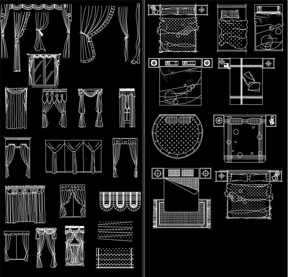 Pin By Cad Blocks Drawings On Interior Design 2d Blocks Bundle Cad