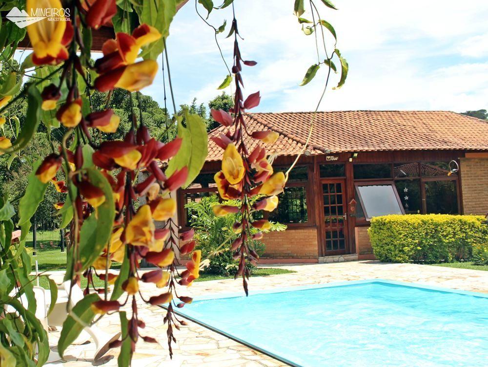 Orquídeas na Pousada Vila Minas, em Itanhandu, sul de Minas Gerais.