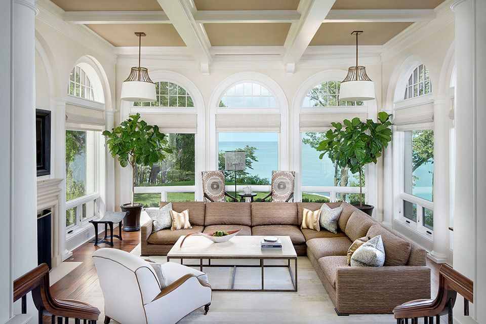 Chairish Sunroom Designs Sunroom Furniture Layout Interior Design