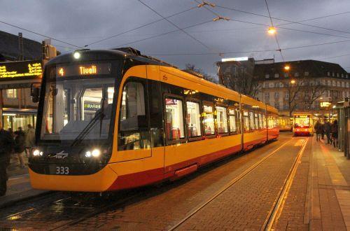 Stadler/Vossloh Kiepe tram-trains for Karlsruhe
