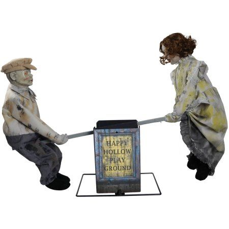 Free 2-day shipping Buy See Saw Dolls Playground Halloween