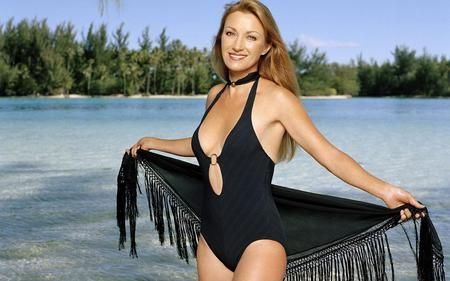 Jane Seymour Bathing Suit Pictures Jane Seymour Black