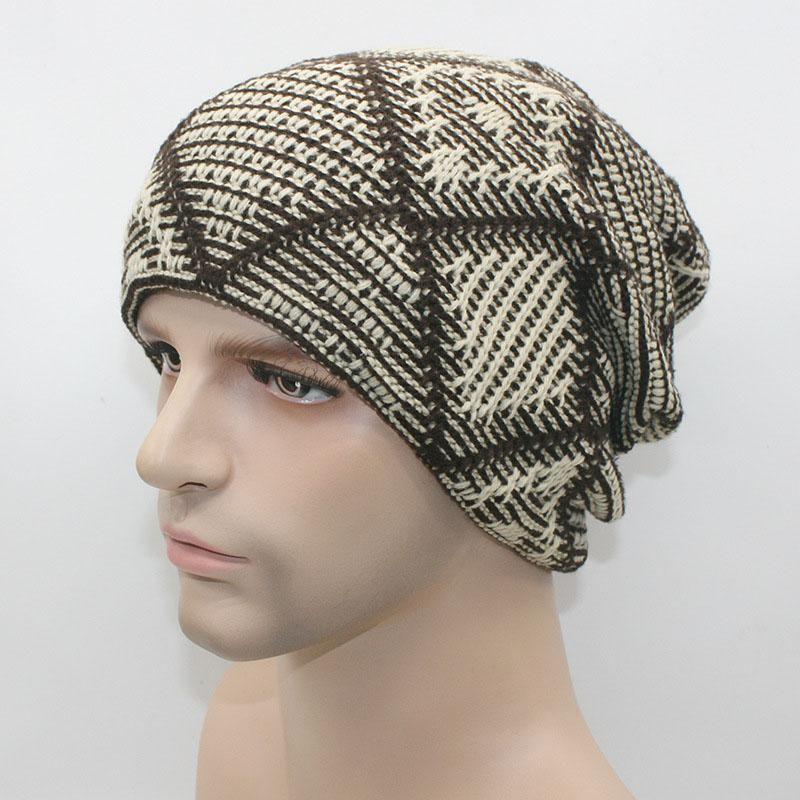 AETRENDS  Winter Hats Men Hat Beanies Skullies with Velvet Inside Z-2019 19bac82ad751