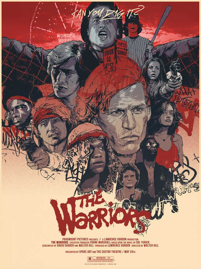 The Warriors by Grzegorz Domaradzki