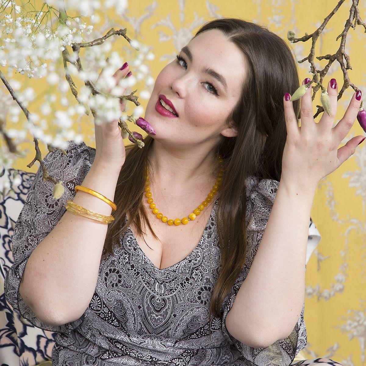 Diana Maxi Dress Photo: Nanna Hänninen Make up: Satu Arvo Model: Ninja Sarasalo