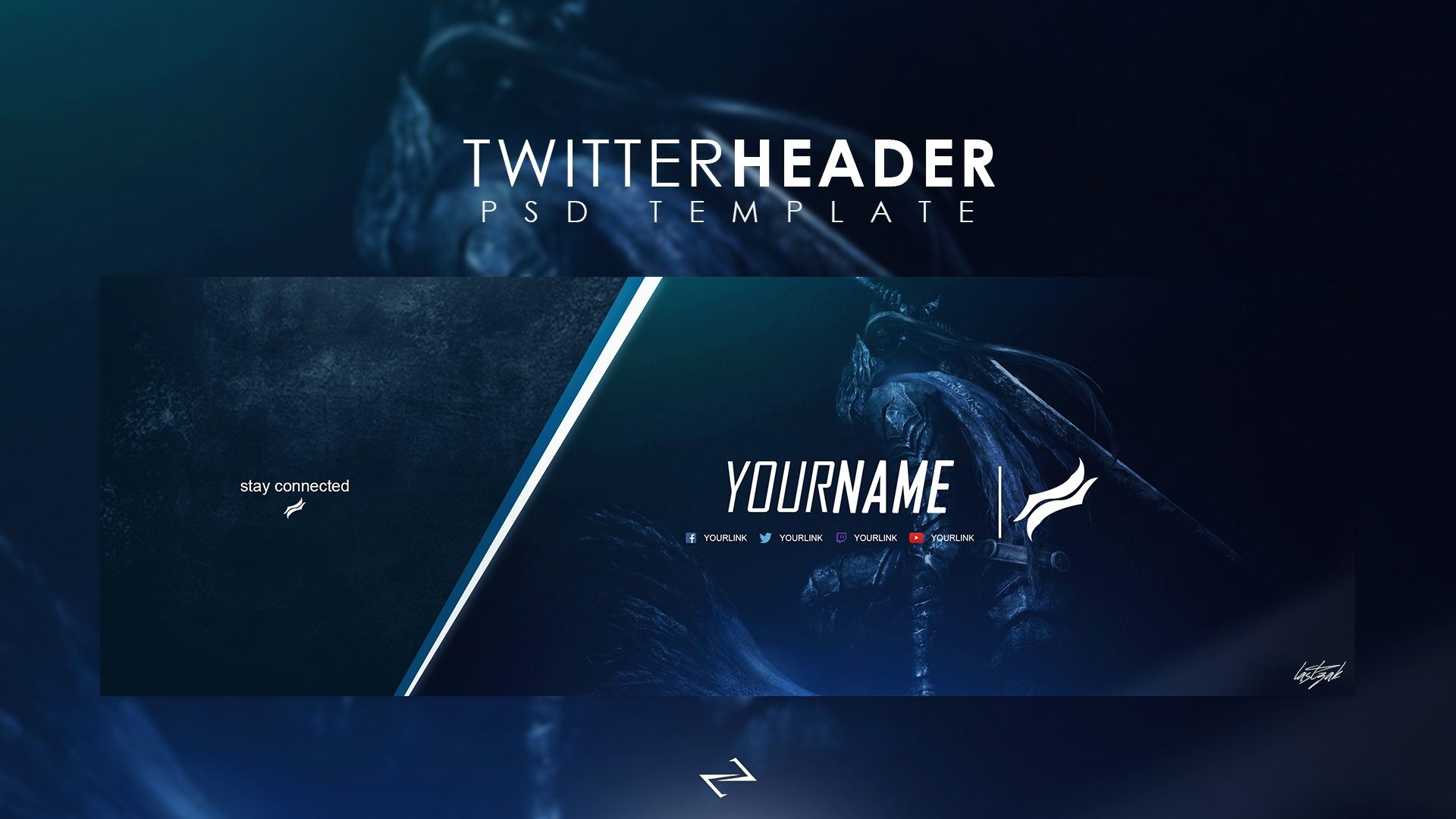 Professional Gaming Twitter Header Templatelastzak Throughout Twitter Banner Template Psd Best Sample Template In 2020 Twitter Banner Banner Template Twitter Header