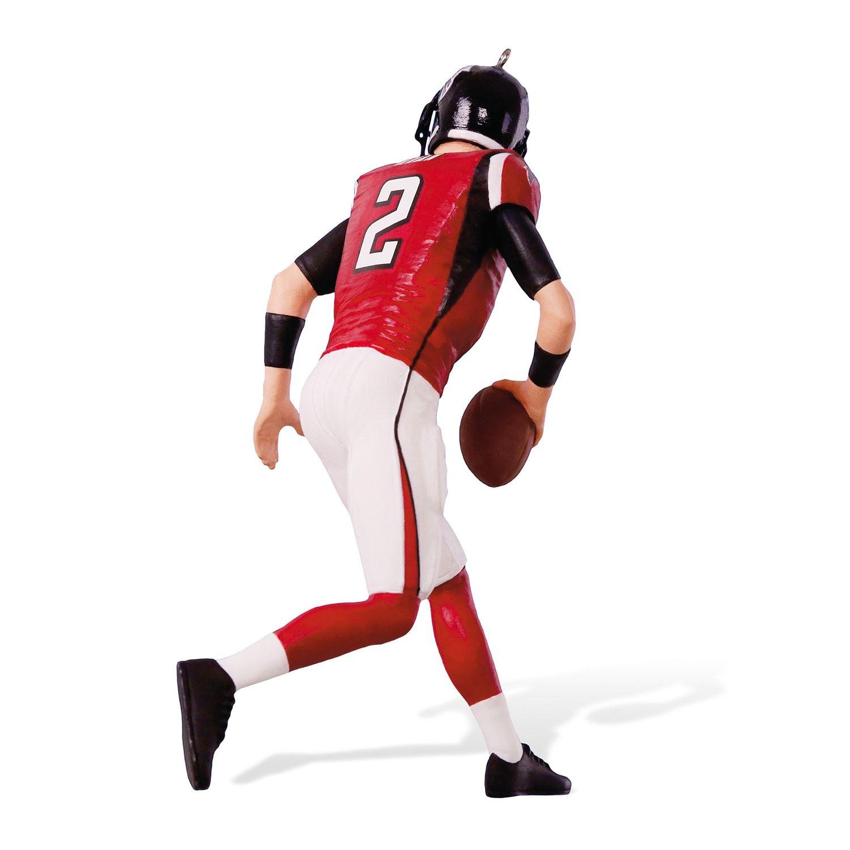 Nfl Football Legends Atlanta Falcons Matt Ryan 2018 Hallmark Keepsake Christmas Ornament Atlanta Falcons High Fashion Home Atlanta Falcons Nfl Football