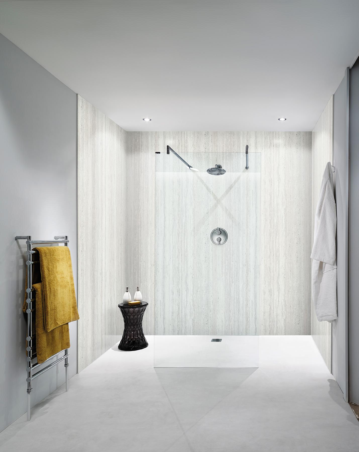 Nuance Shower Room Bathroom Wall Panels Waterproof Paneling