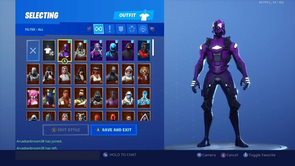Stacked Exclusive Skins Fortnite Account Fortnite