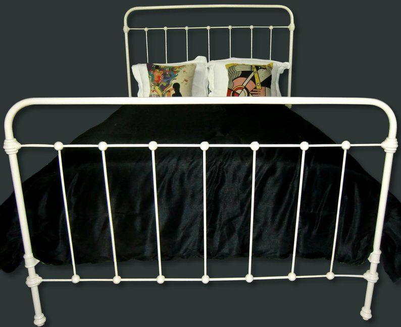 Queen Antique Cast Iron Bed Queen Bedframe Wrought Iron Bed