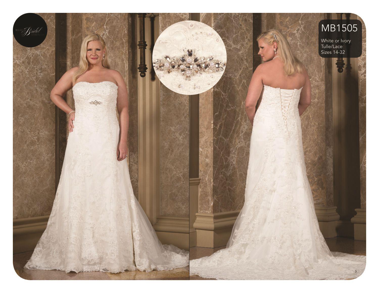 Plus Size Bridal with Sydney's Closet Full figured bride