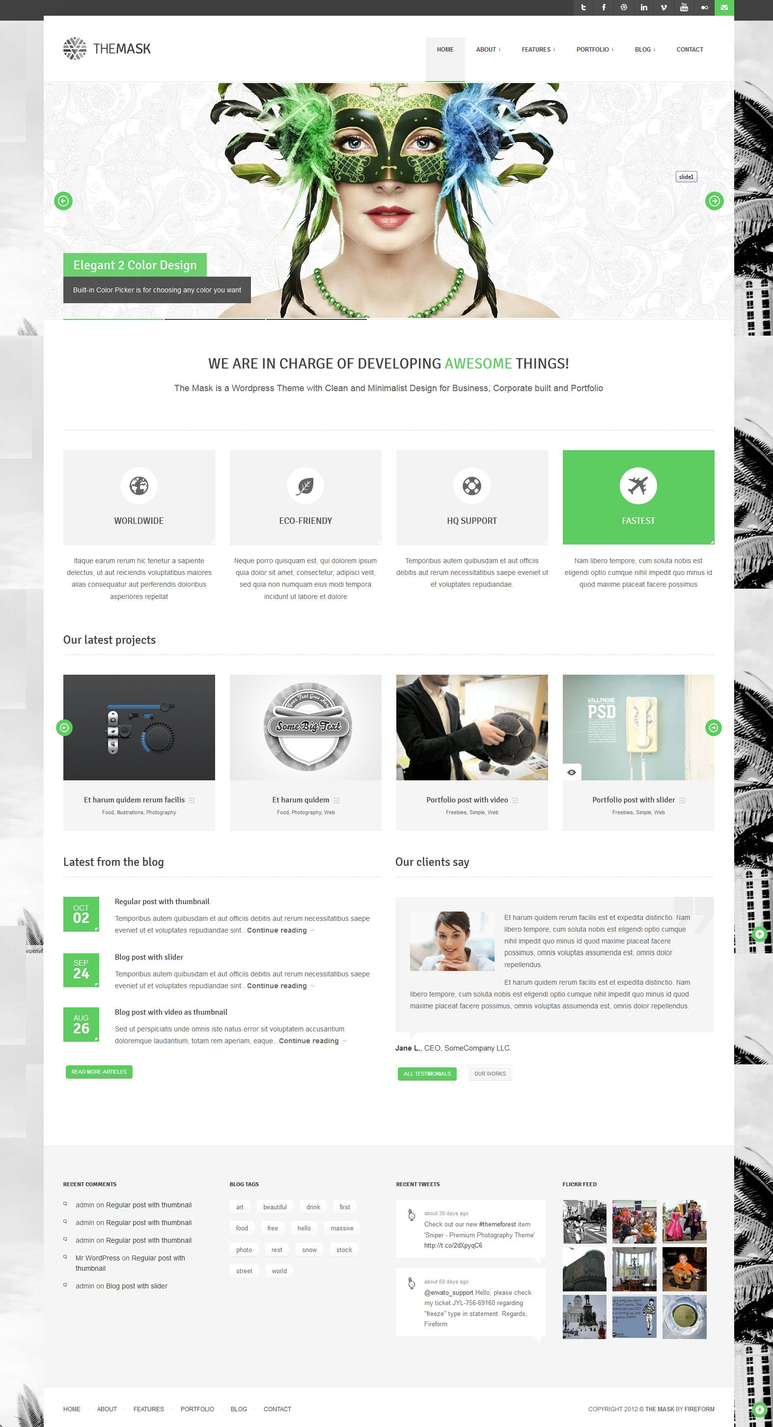 Pin By Chelsea Eason On Inspiration Web Themes Website Template Design Wordpress Template Web Design