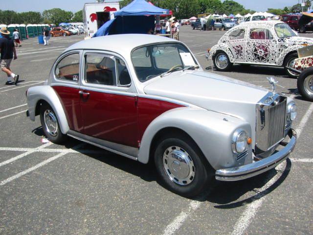 vw rolls royce front kit  woodie | custom | Vw beetles, Volkswagen