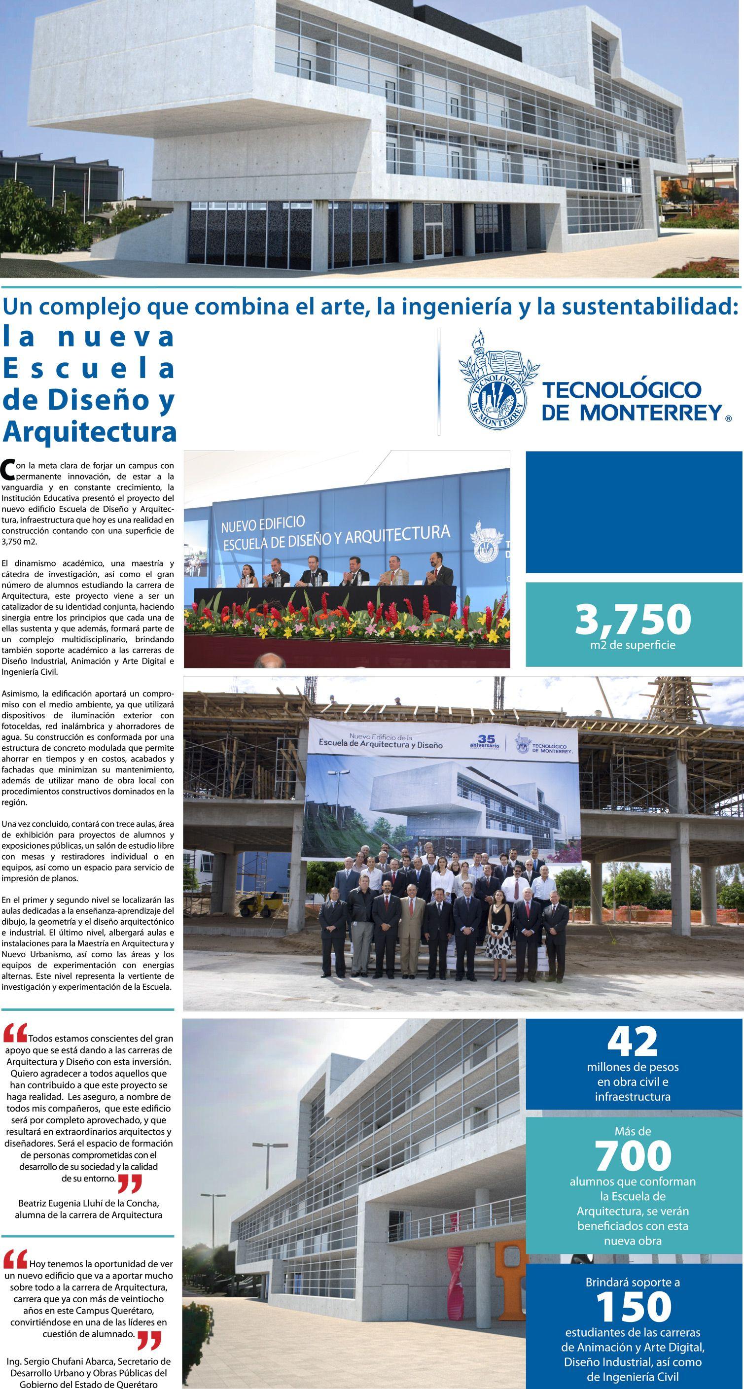 En el Tecnológico de Monterrey se cuenta con las mejores instalaciones.