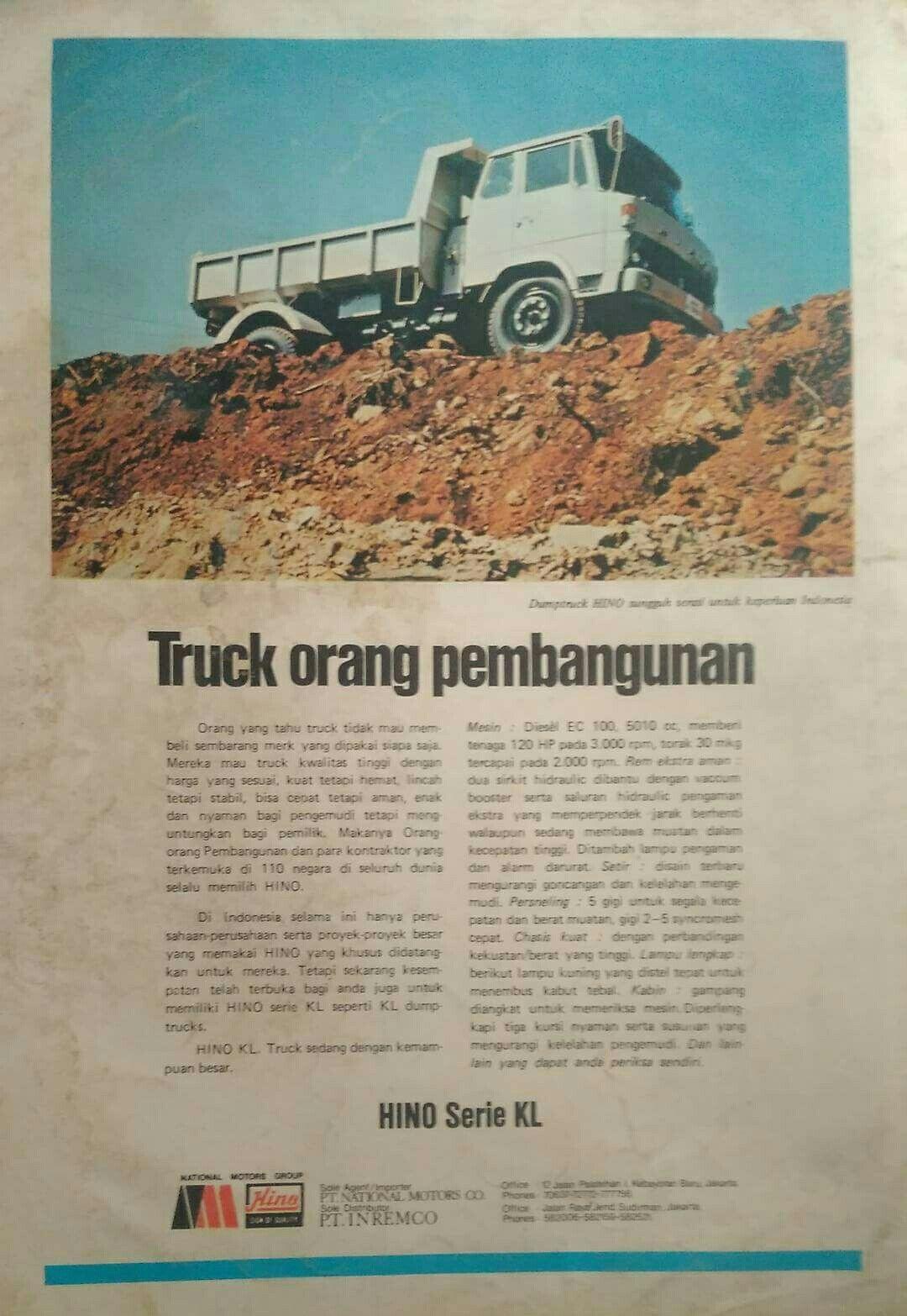 Hino Truck Tahu Bangunan