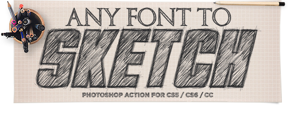 Sketch Photoshop Action Text Effect Photoshopactionssimple Sketch Photoshop Photoshop Actions Photoshop