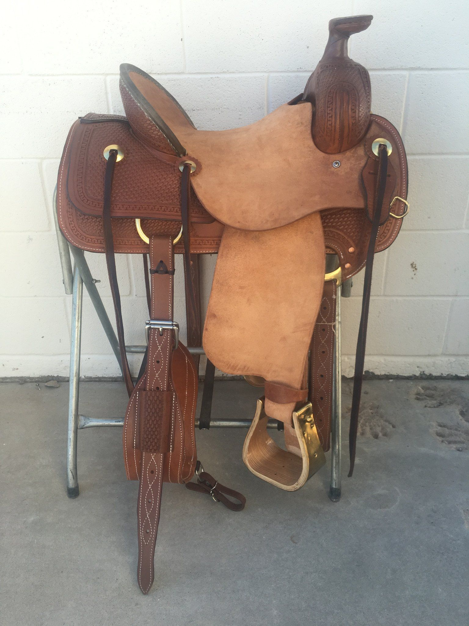 CSA 339A Corriente Association Ranch Saddle | horses | Horse saddle